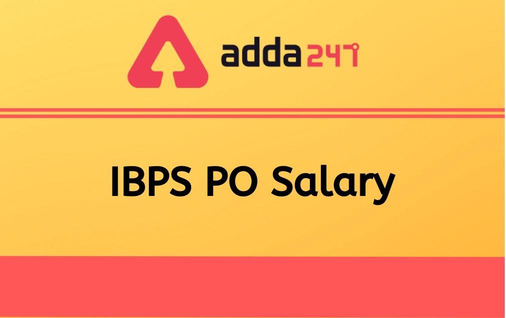 ibps-po-salary