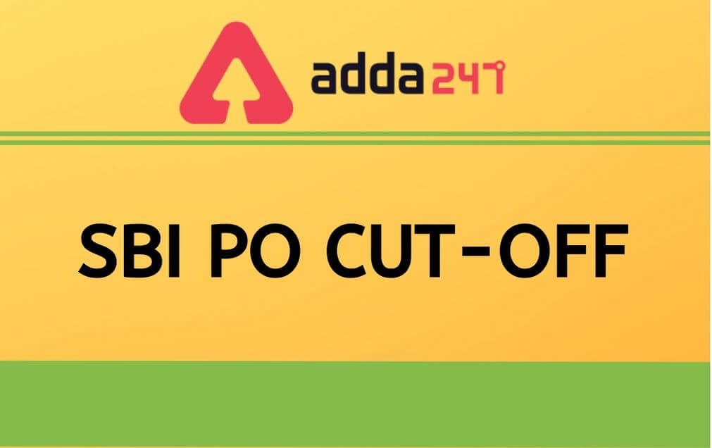 SBI-PO-CUT-OFF