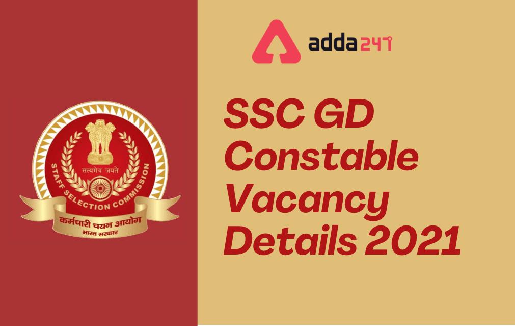 SSC GD Constable Vacancy 2021: Check Vacancies @ssc.nic.in_30.1
