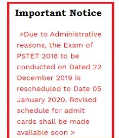 Punjab tet notification 2019