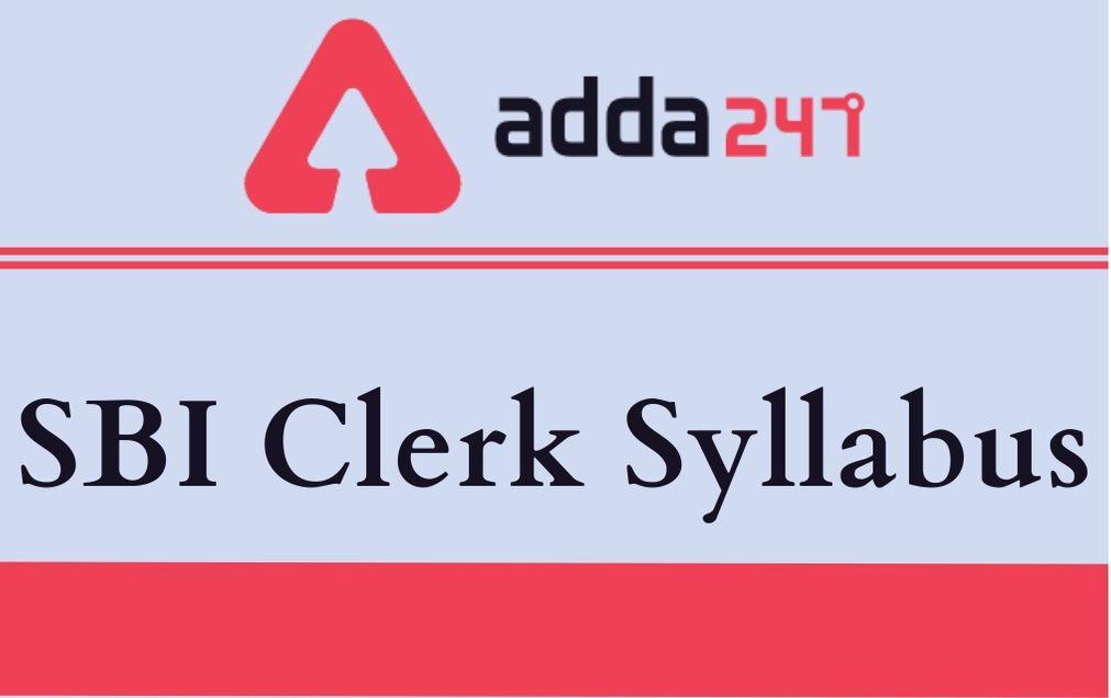 sbi-clerk-syllabus