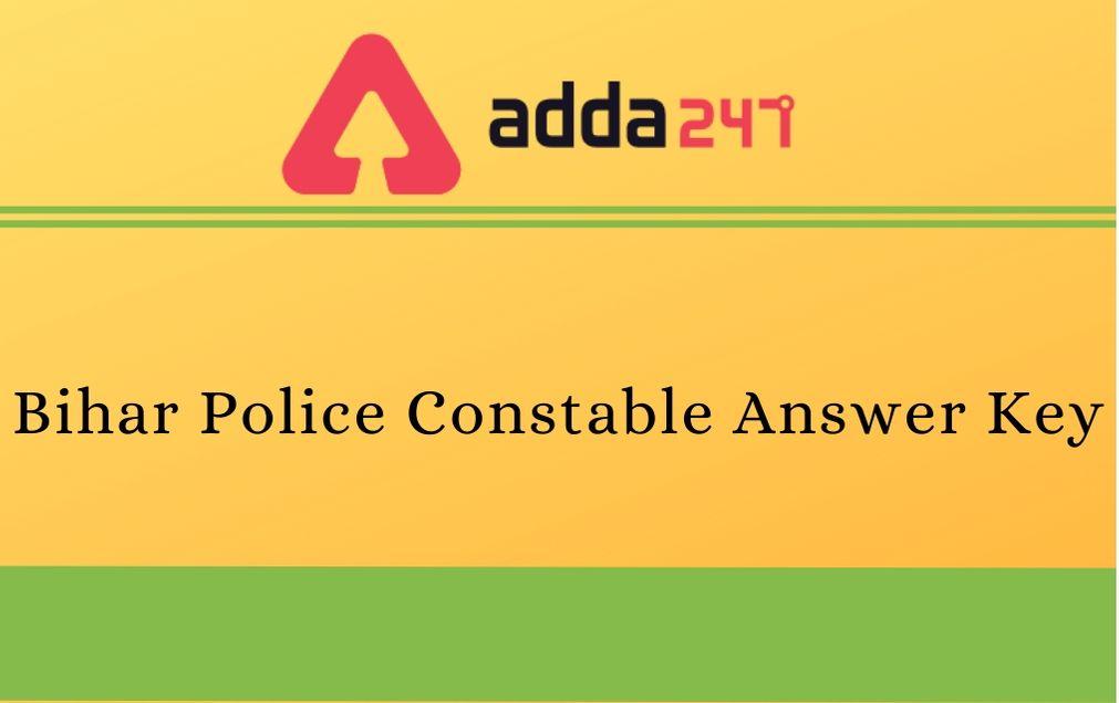 Bihar-Police-Constable-Answer-key