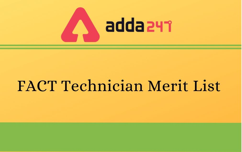 FACT Technician Merit List
