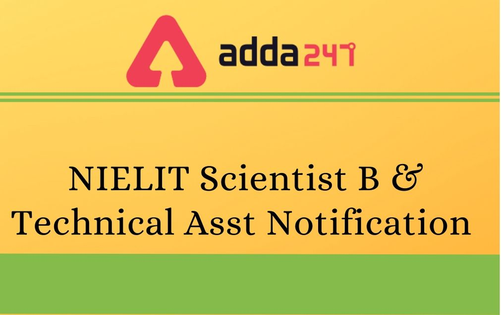 nielit- Scientific_ Technical Assistant-recruitment