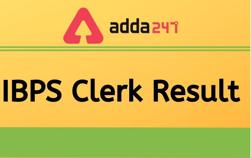 ibps-clerk-result