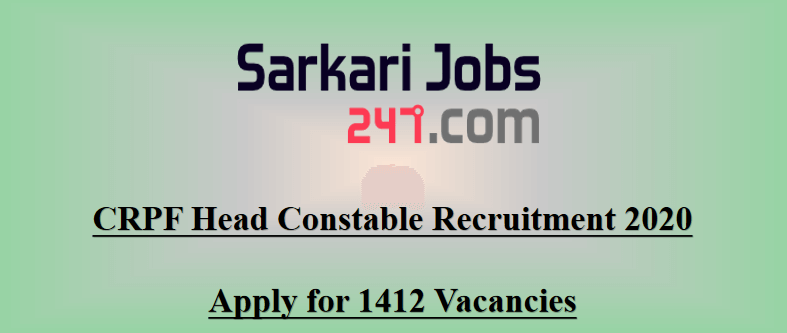 CRPF-head-constable-recruitment-2020