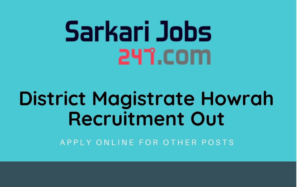 District-Magistrate-Howrah-Recruitment
