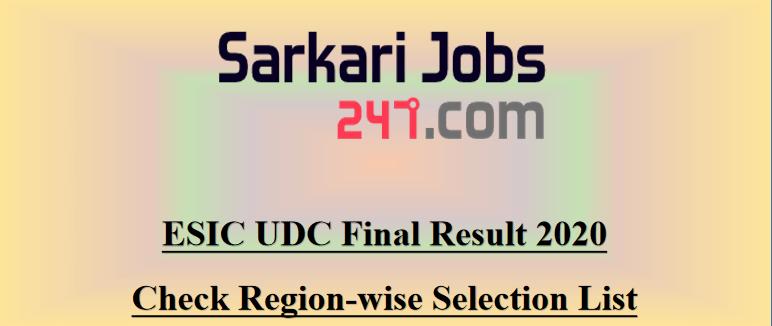 ESIC-UDC-final-result