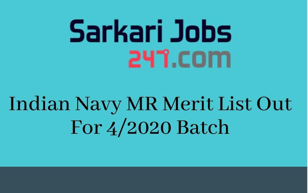 Indian-Navy-MR-Merit-List