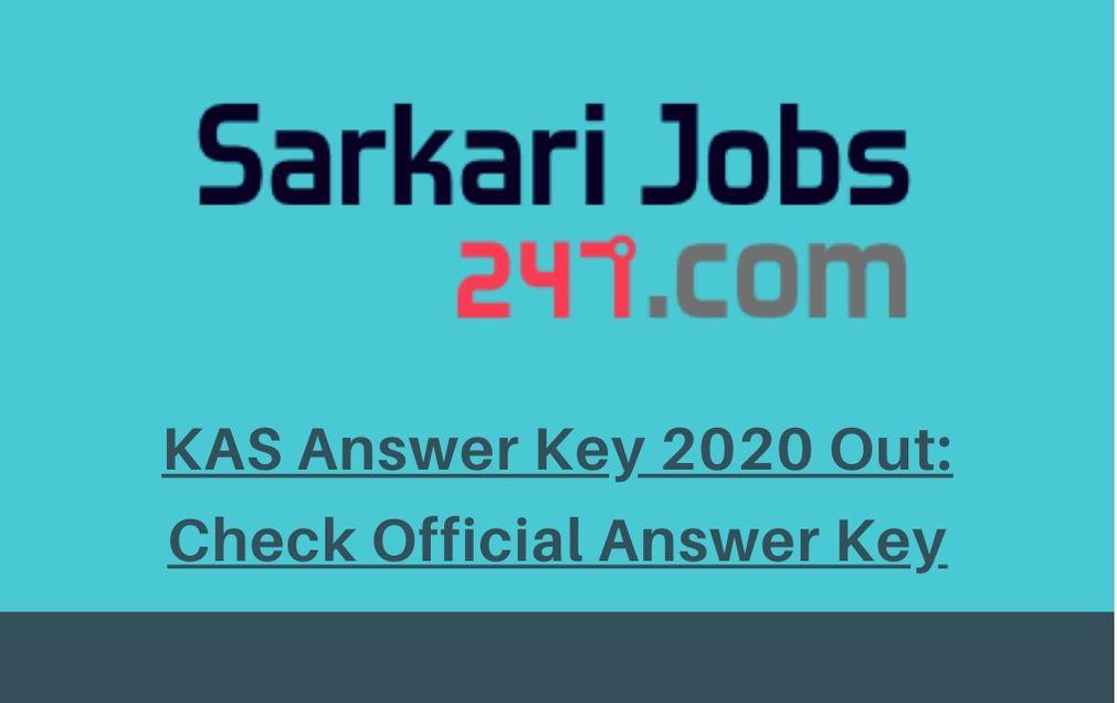 KAS-Answer-Key-2020