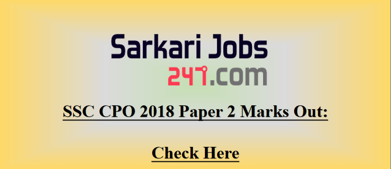SSC-CPO-2018-Marks-paper-2