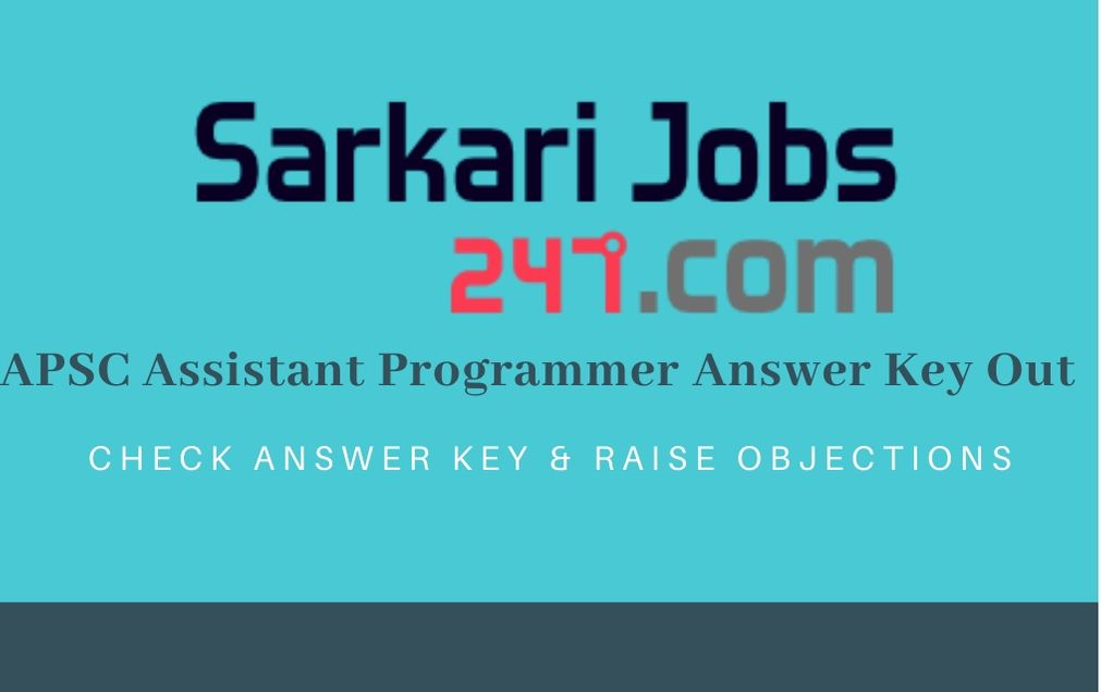 apsc-assistant-programmer-answer-key