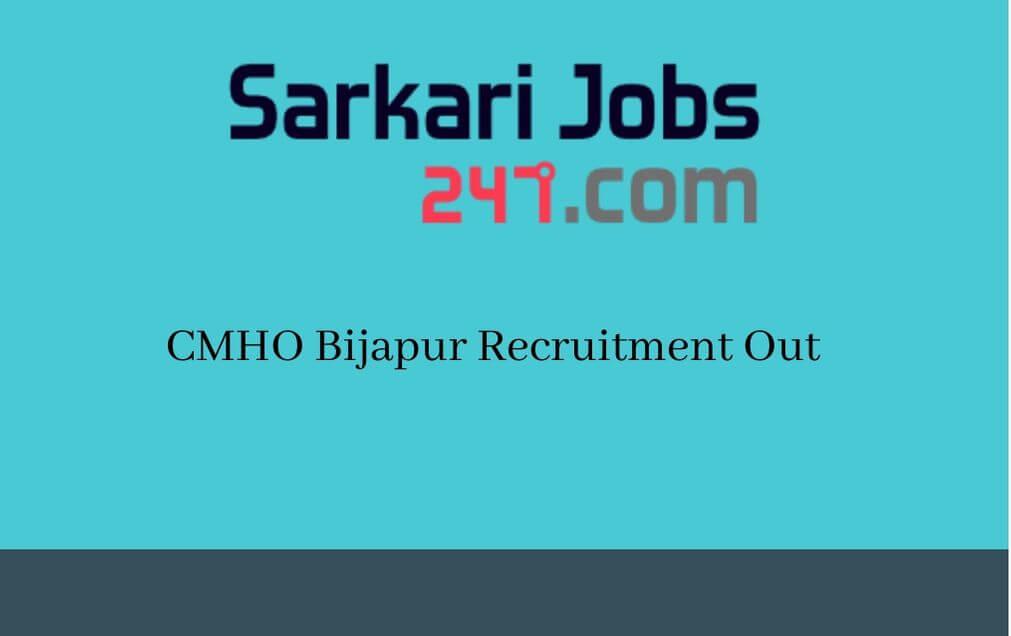 cmho-bijapur-recruitment