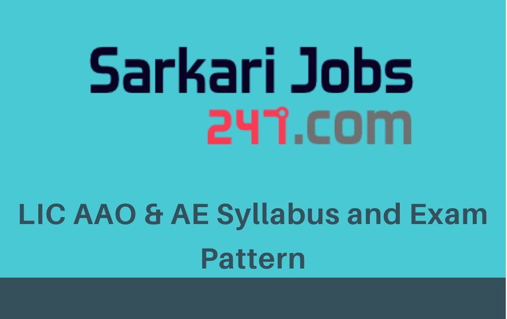 lic-aao-ae-syllabus-exam-pattern