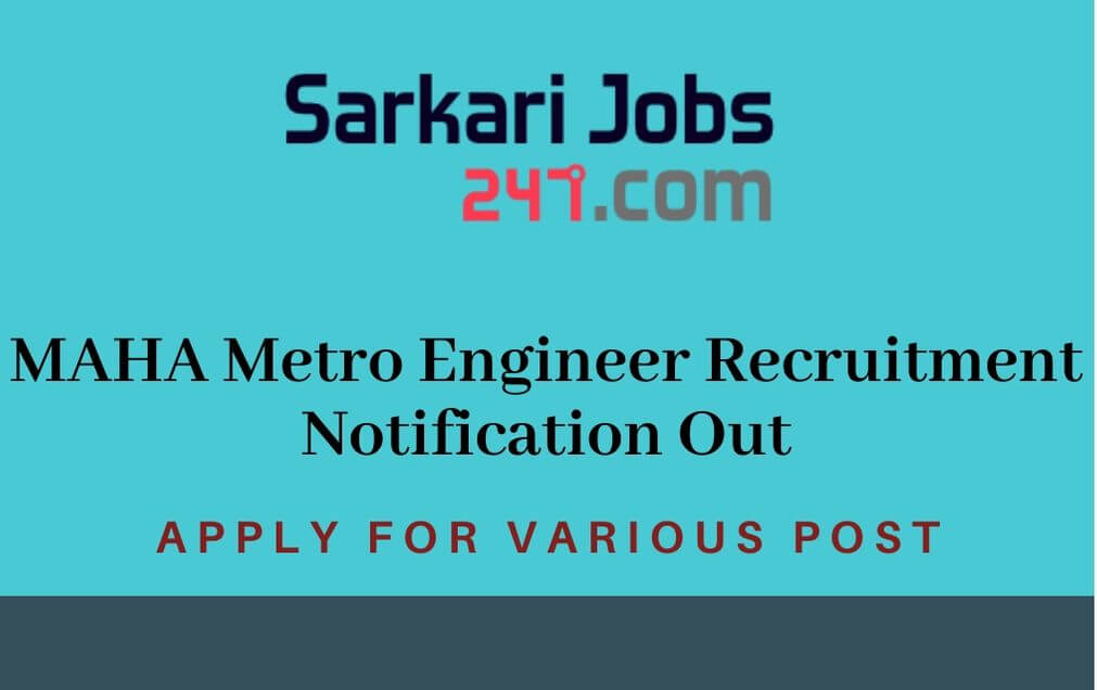 MAHA-metro-recruitment