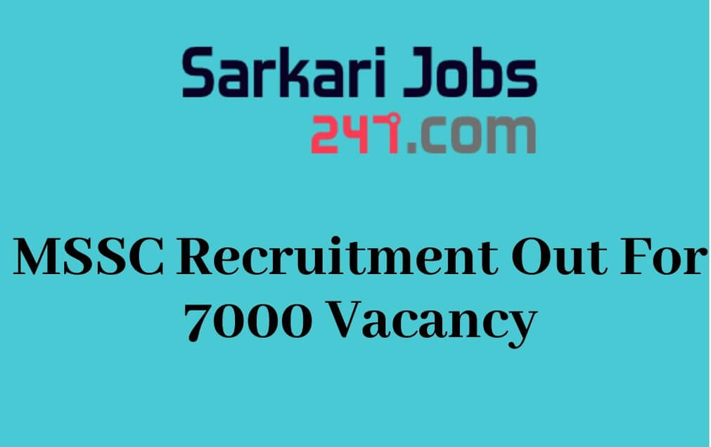 MSSC Recruitment 2020 Out: Apply Online For 7000 Security Guard_30.1