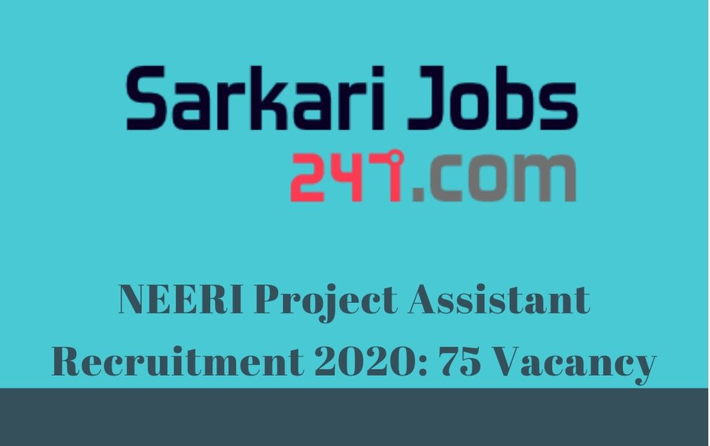 neeri-project-assistant-recruitment