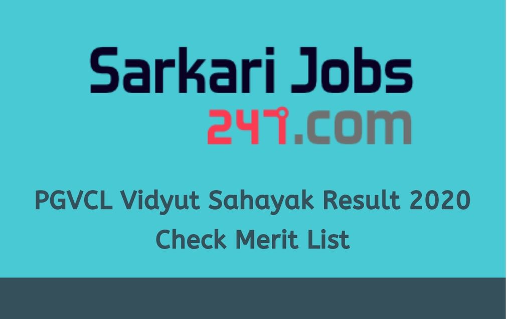 pgvcl-vidyut-sahayak-result