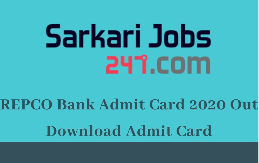REPCO Bank Admit Card 2020 Out: Download Sub Staff/ Peon Call Letter_30.1