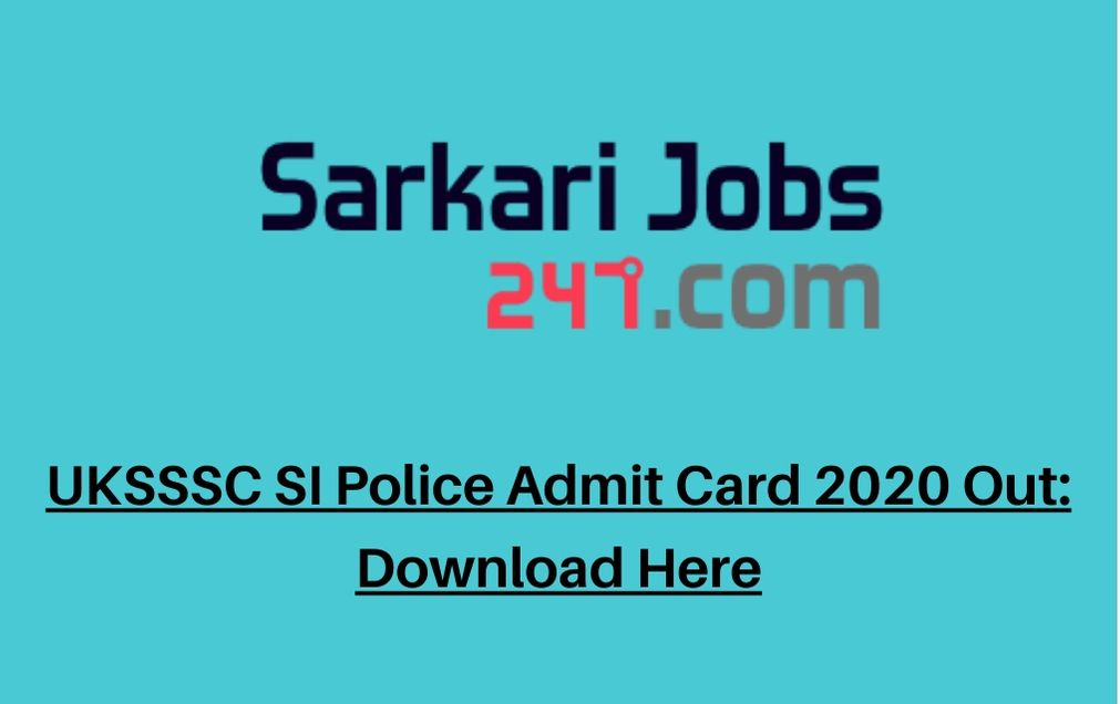 uksssc-si-police-admit-card
