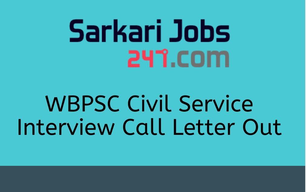 wbpsc-civil-service-call-letter