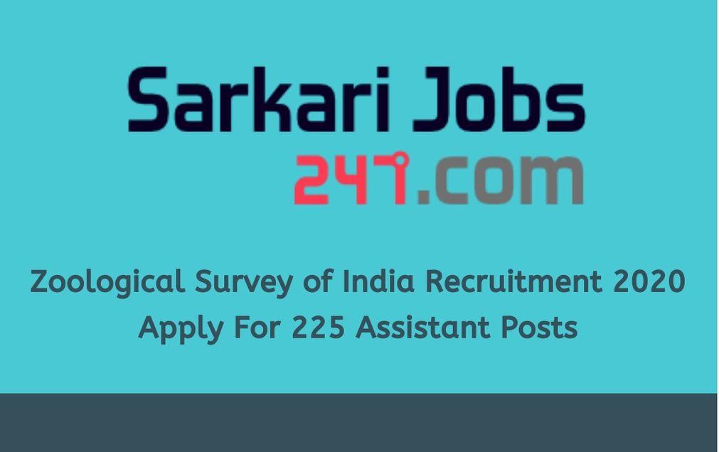 zoological-survey-of-india-recruitment-2020