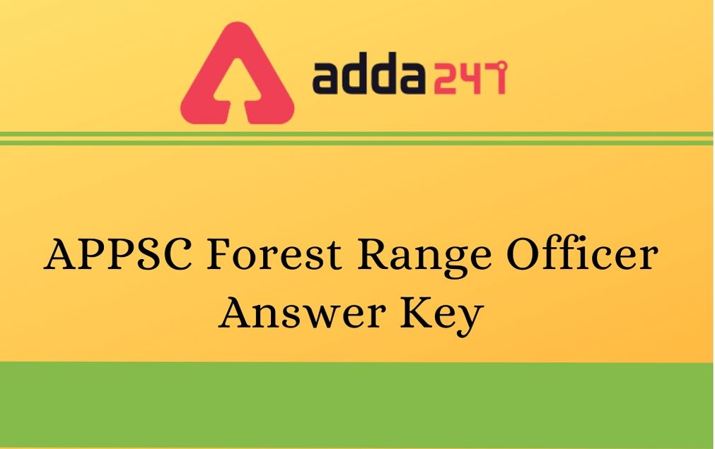 appsc-forest-ranger-ansewer-key