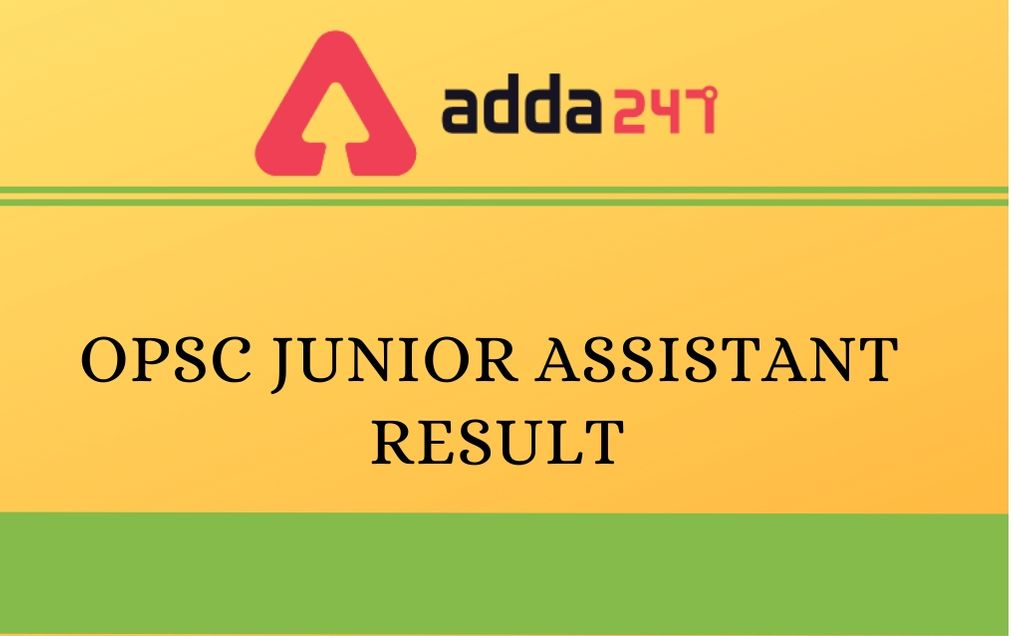 opsc-junior-assistant-result