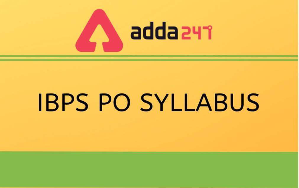 ibps-syllabus