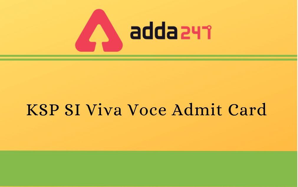 KSP-SI-Viva-Voce-Admit-Card
