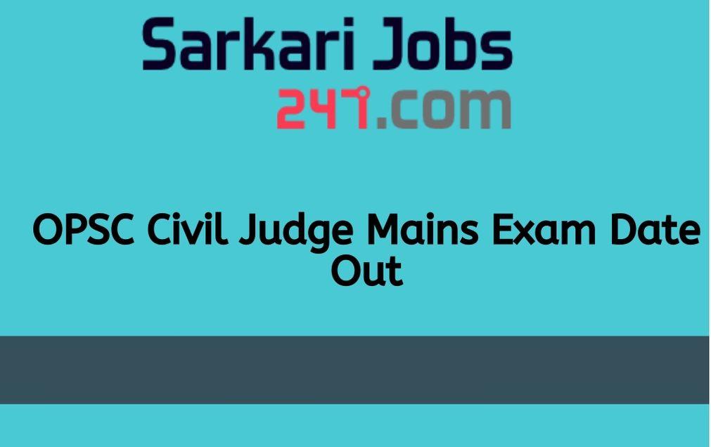 OPSC-Civil-Judge-Exam-Date