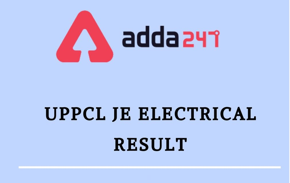 UPPCL-JE-ELECTRICAL-RESULT