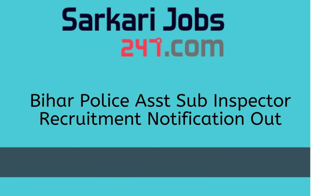 Bihar Police ASI Steno Recruitment 2020 Out: Apply Online Here_30.1