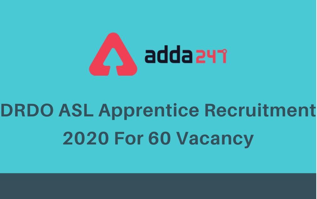 drdo-asl-apprentice-recruitment-2020