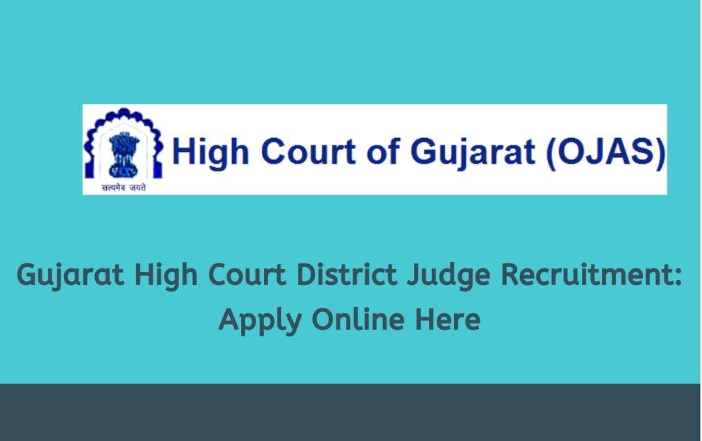 gujarat-high-court-district-judge-recruitment-2020