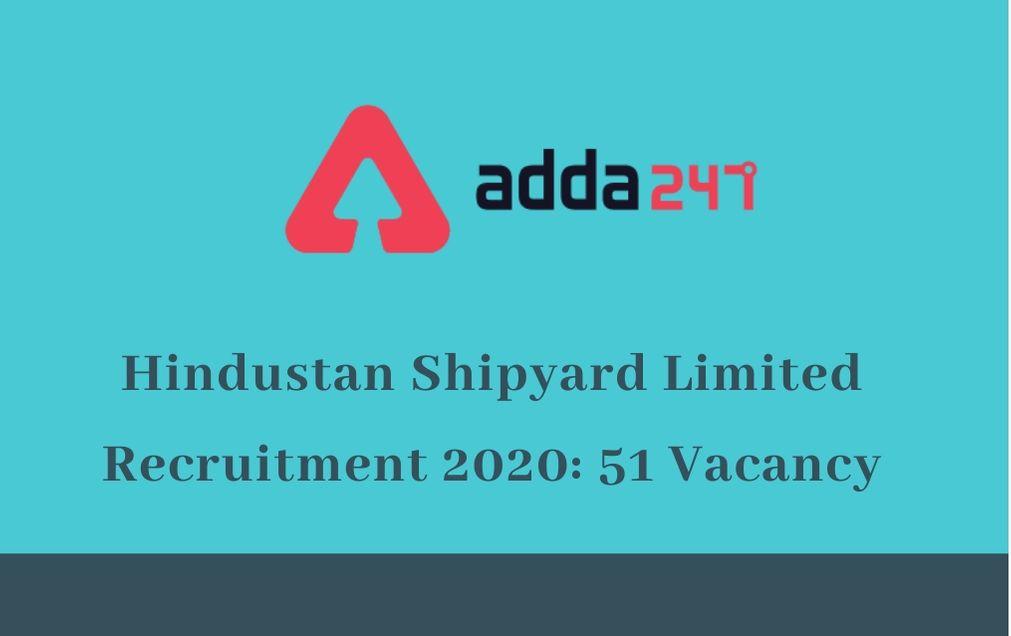 hindustan-shipyard-limited-recruitment-2020