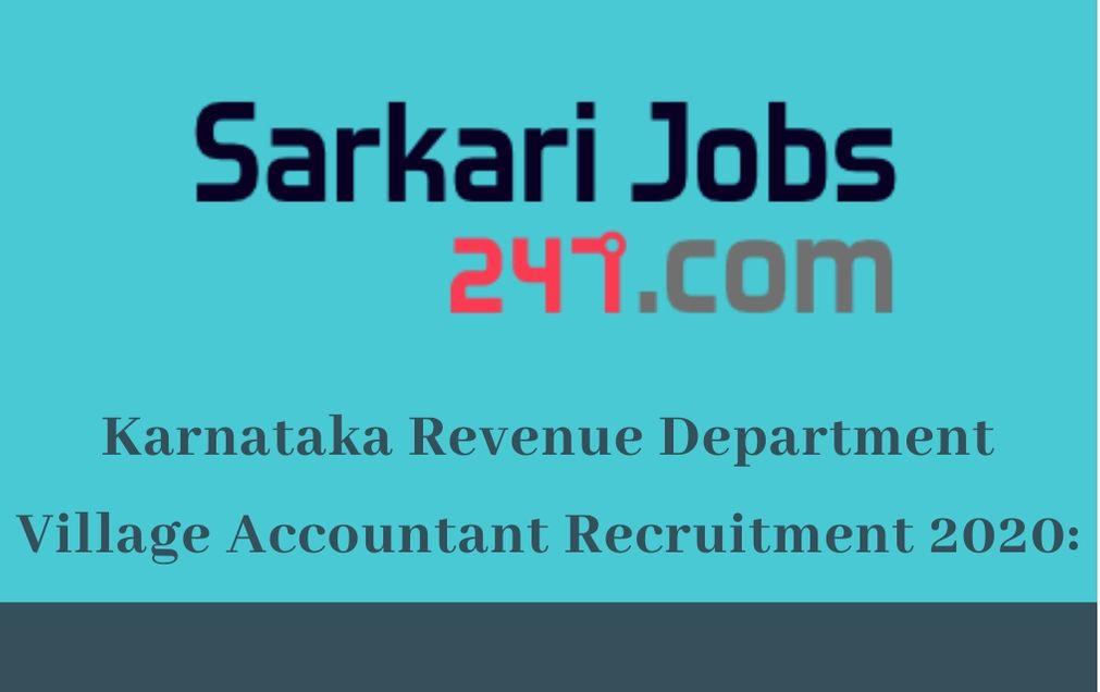 karnataka-revenue-dept-village-accountant-recruitment