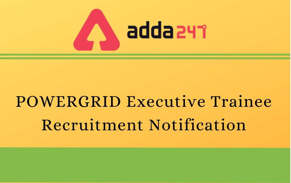 powergrid-executive-trainee-Recruitment