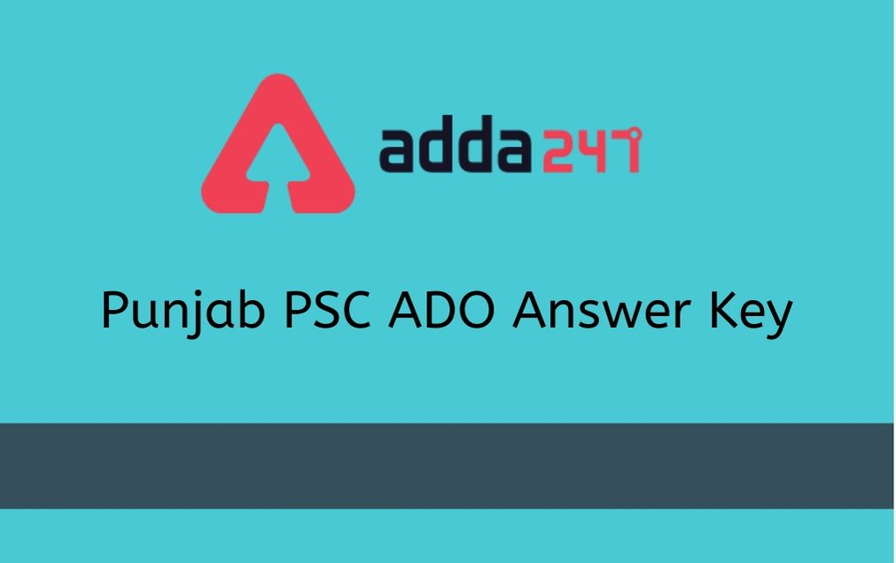 ppsc-ado-answer-key