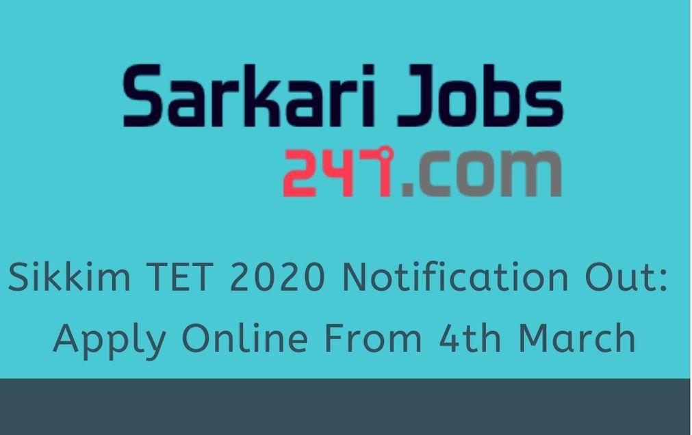 sikkim-tet-notification-2020