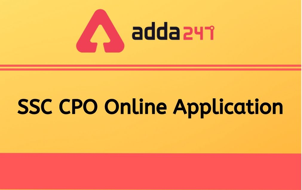 ssc-cpo-online-application