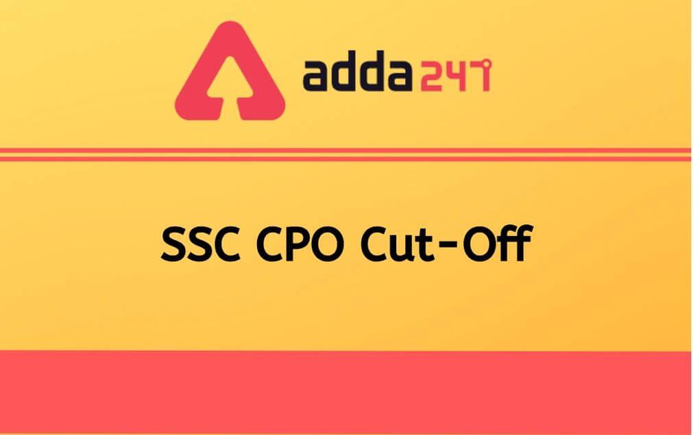 ssc-cpo-cut-off