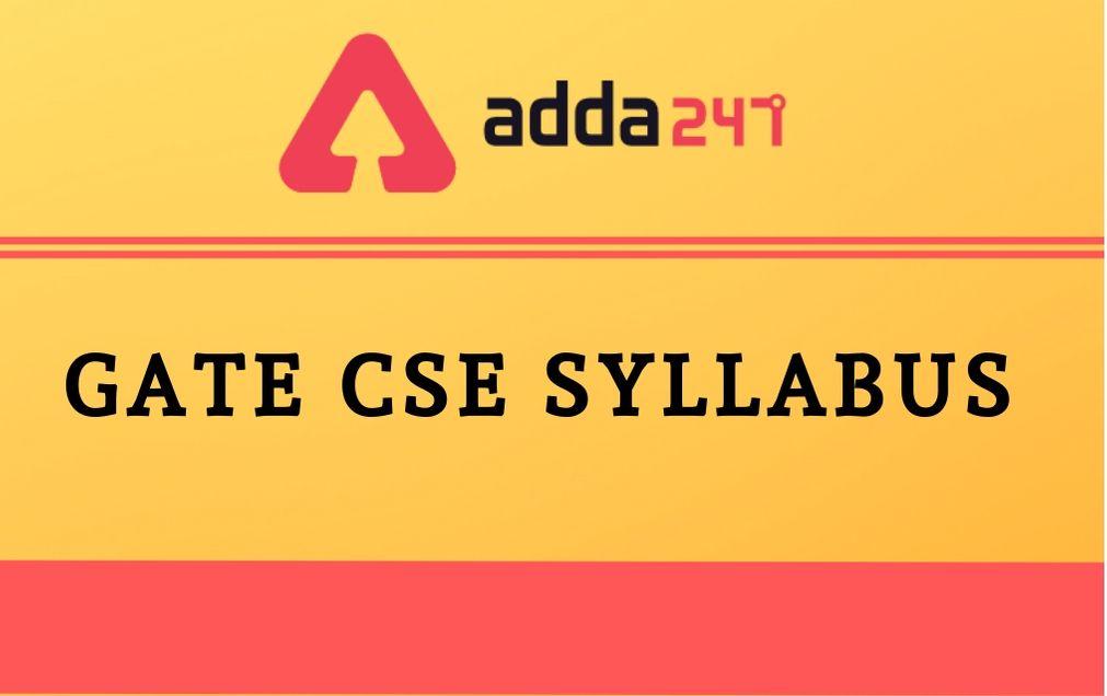 gate-cse-syllabus-2021