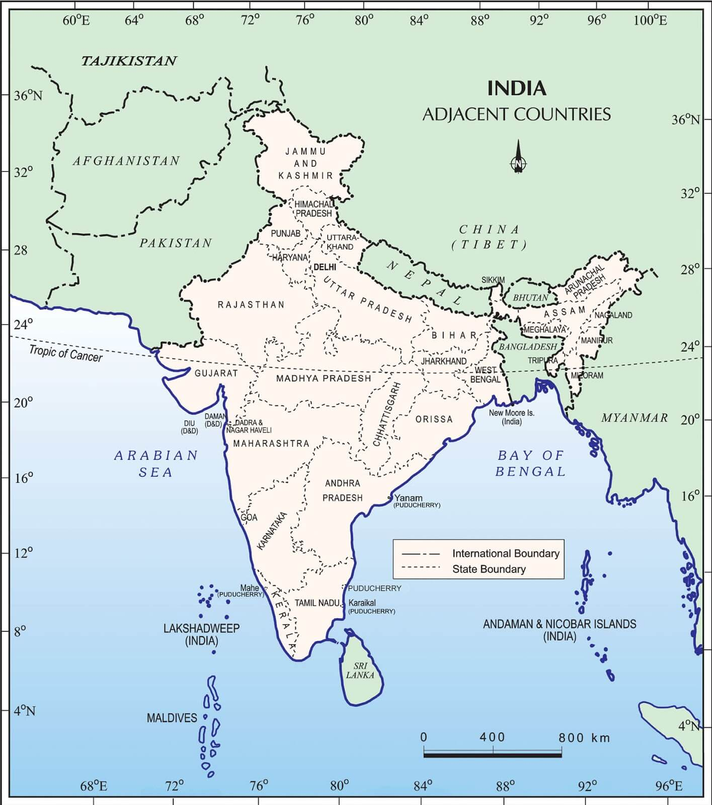 India_and_its_neighbours