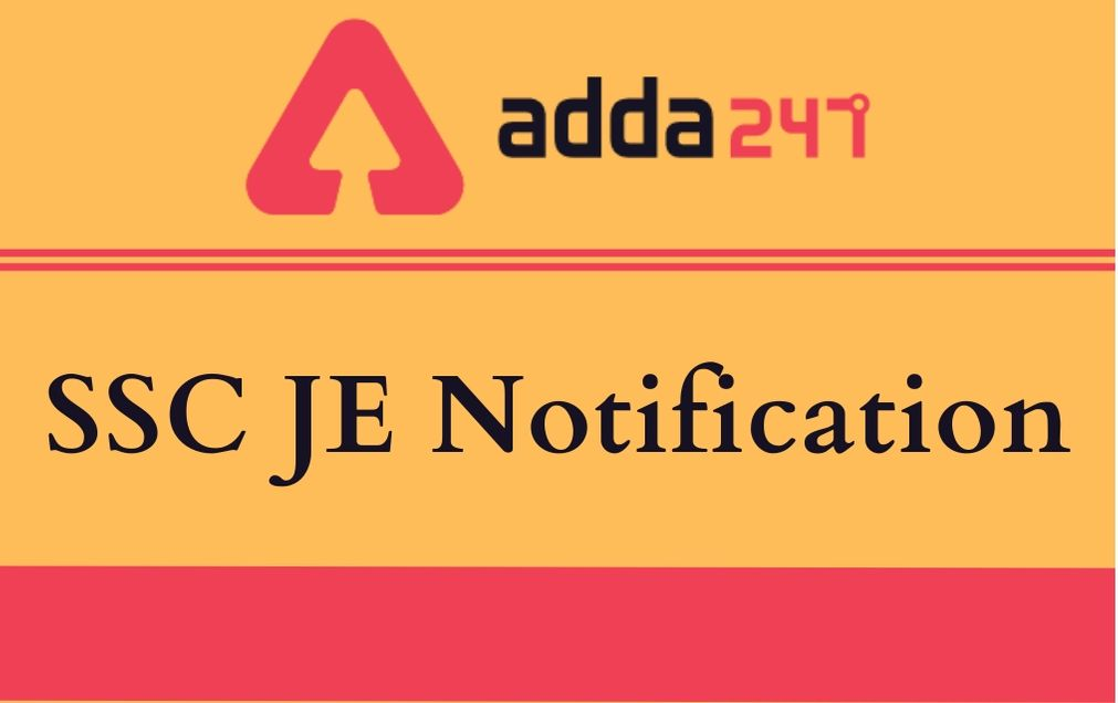 ssc-je-notification