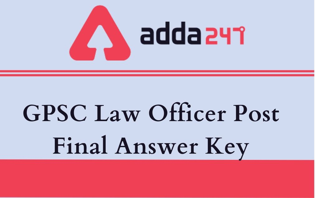 gpsc-law-officer-answer-key