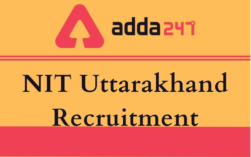 NIT Uttarakhand Recruitment 2020:Apply For Professor Vacancy_30.1