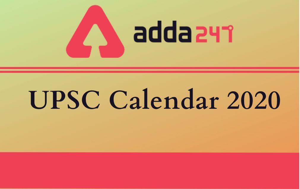 Uisd Calendar 2022 2023.Upsc Calendar 2020 Check Revised Upsc Exam Date