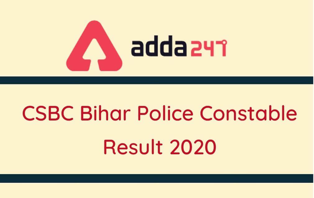 Bihar Police Result 2020 Out: Check Bihar Police Sipahi Bharti Merit List, Result Here_30.1