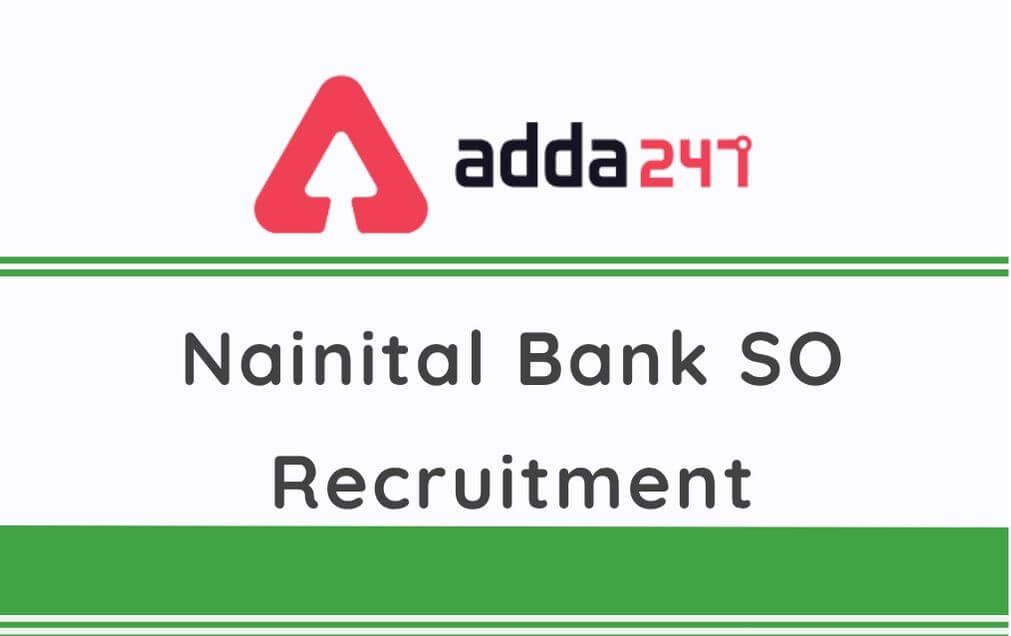 Nainital Bank SO Recruitment